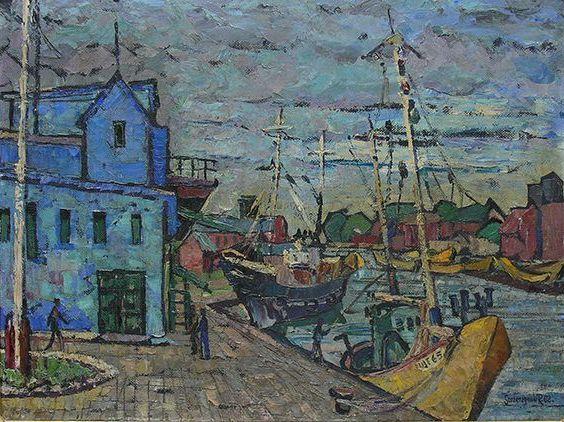 Ustka - Port I, 1962 r.