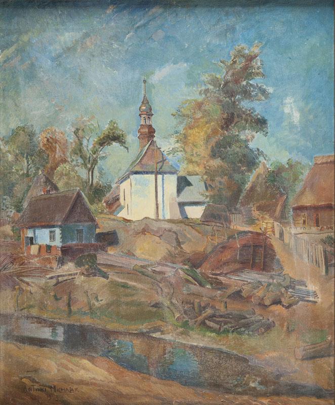 Pejzaż z Kazimierza Dolnego, 1943 r.