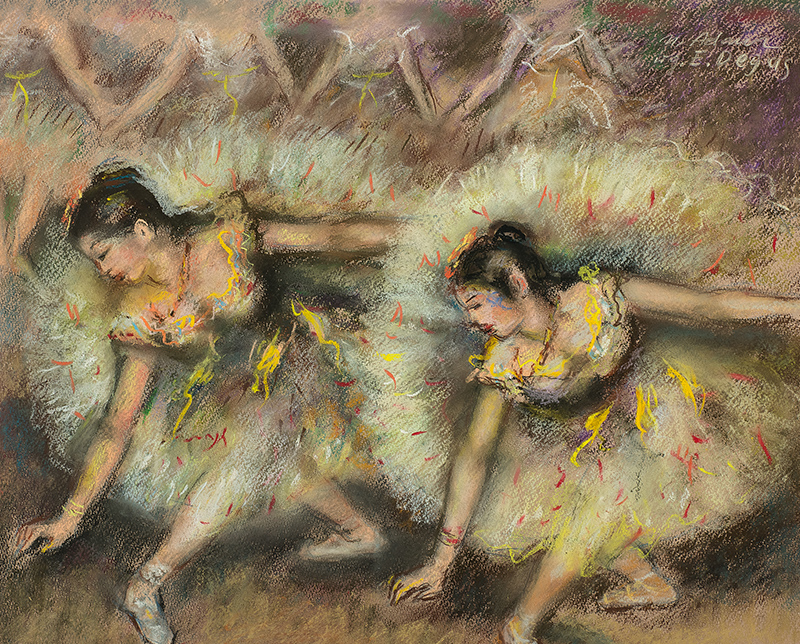 Tancerki, wg Edgara Degas