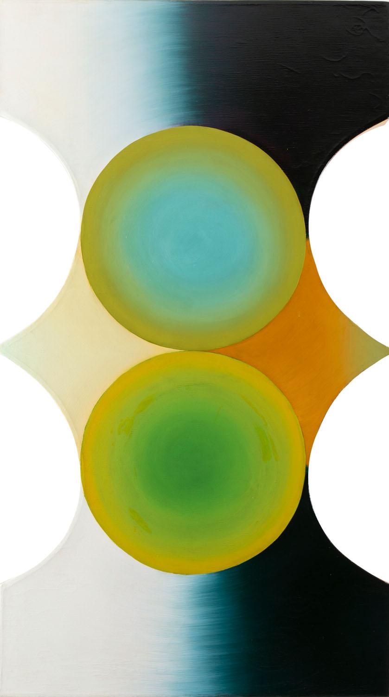"""""""Kompozycja kół osiowa"""", 1970-72 r."""