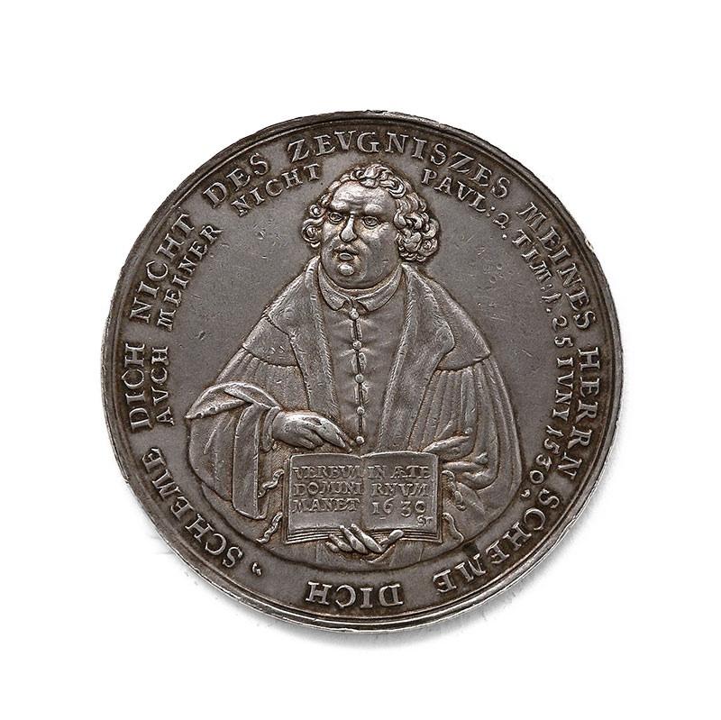 Medal upamiętniający stulecie wydania Confessio Augustana