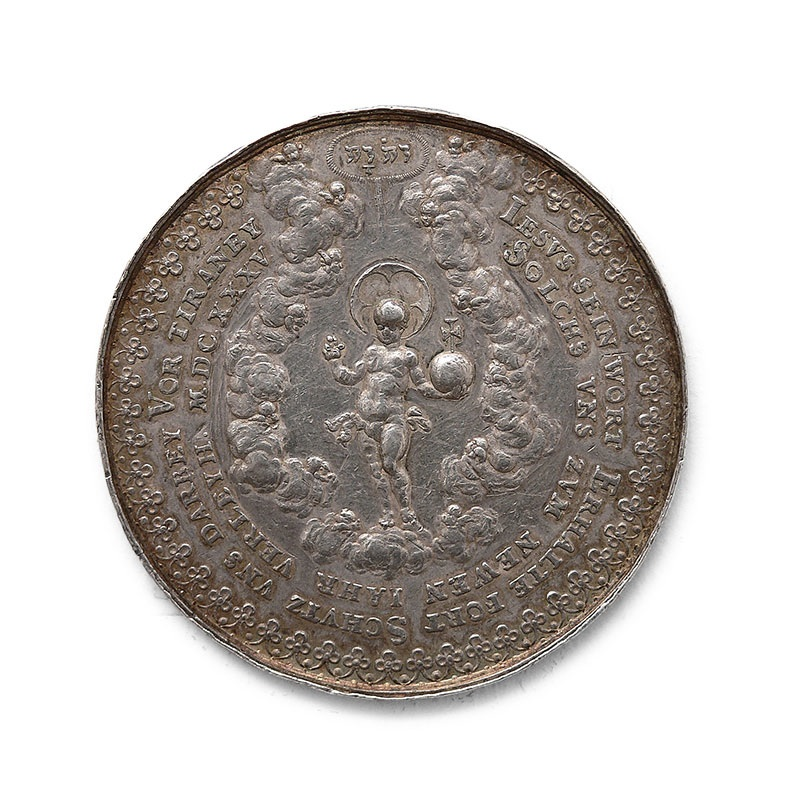 Medal religijny, noworoczny