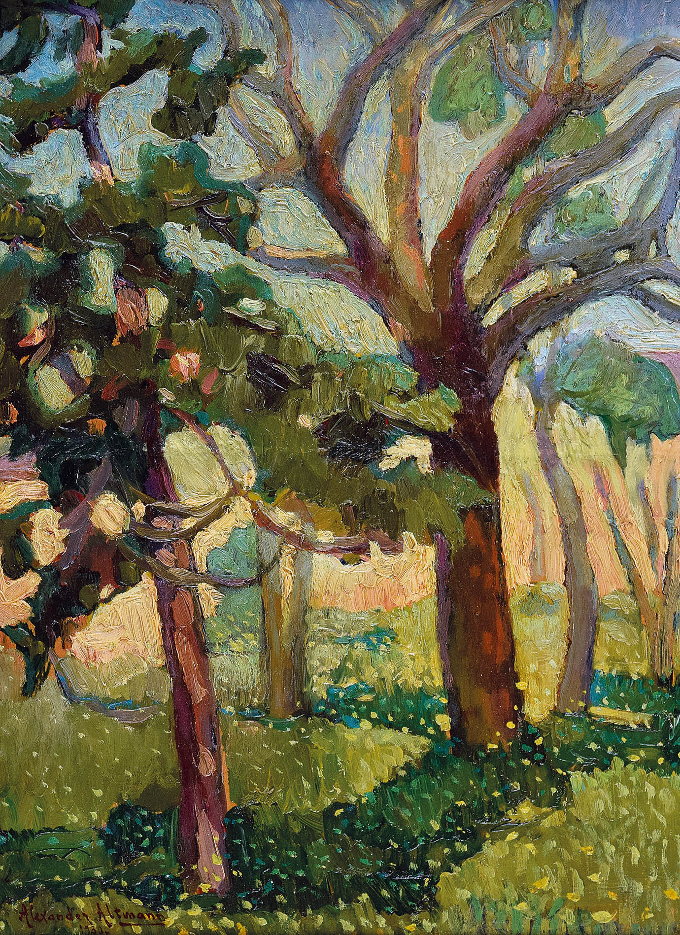 Drzewa, 1930