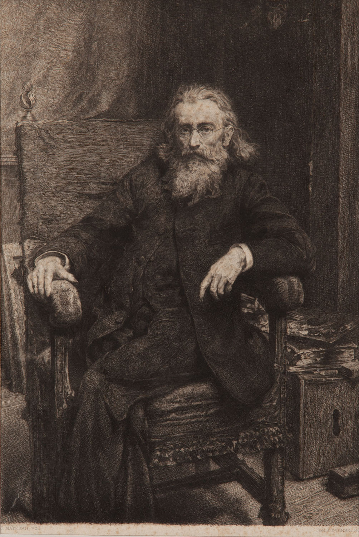Portret Jana Matejki wg autoportretu z 1892 r., 1893 r.