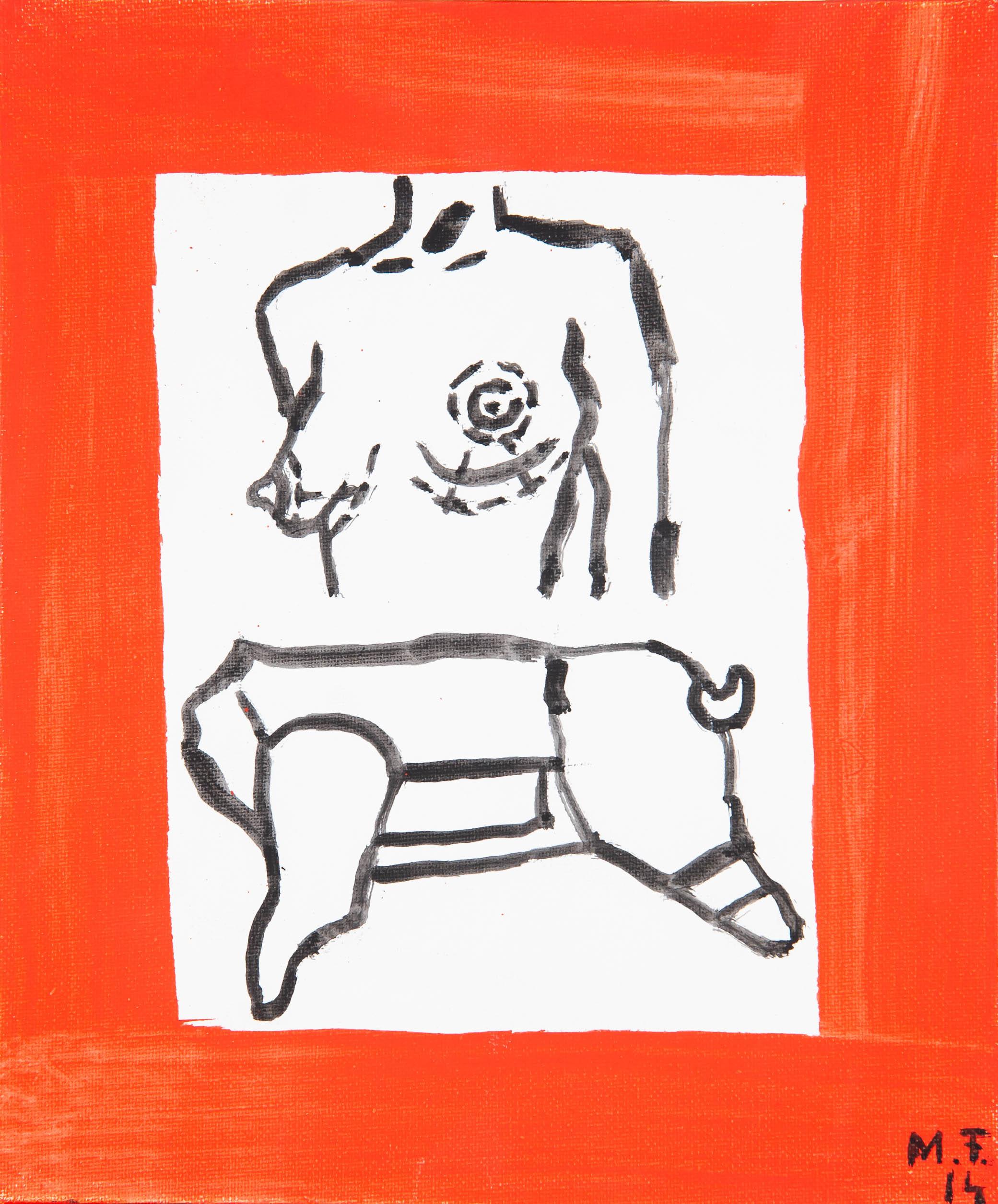 """""""Dwa ciała 1"""", 2014"""