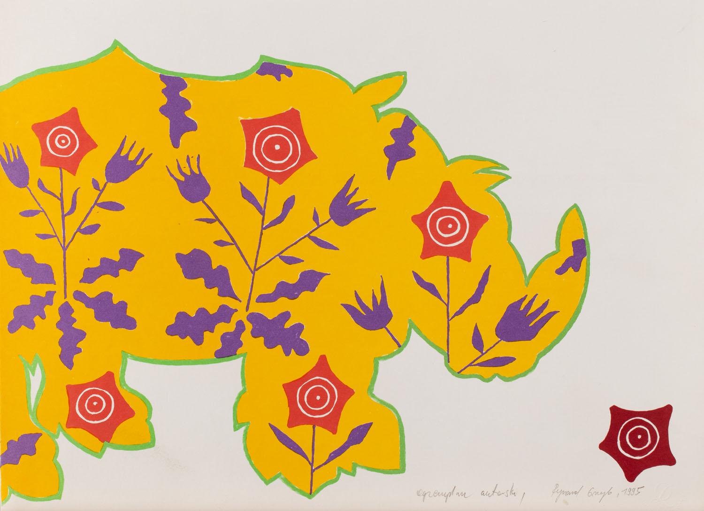 Bez tytułu - Nosorożec, 1995 r.