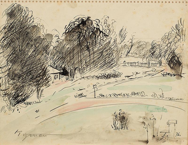 Pejzaż, 1936 r.