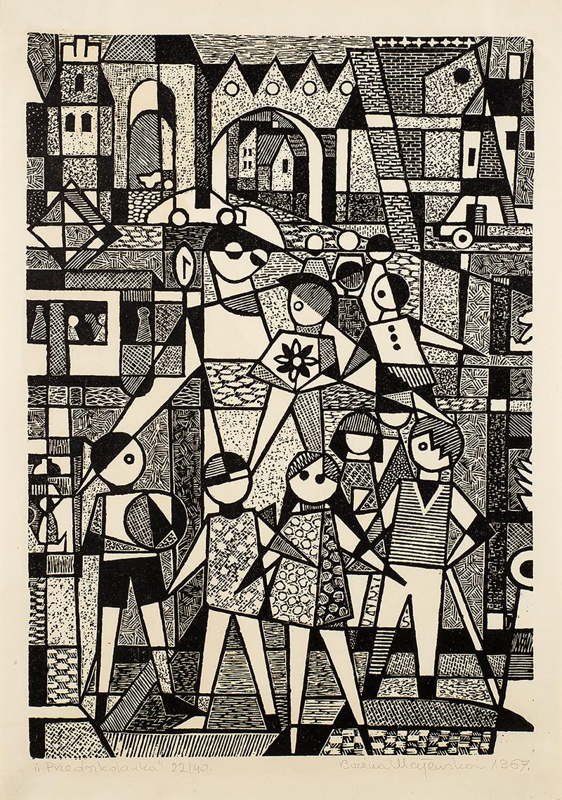 Przedszkolanka, 1967 r.