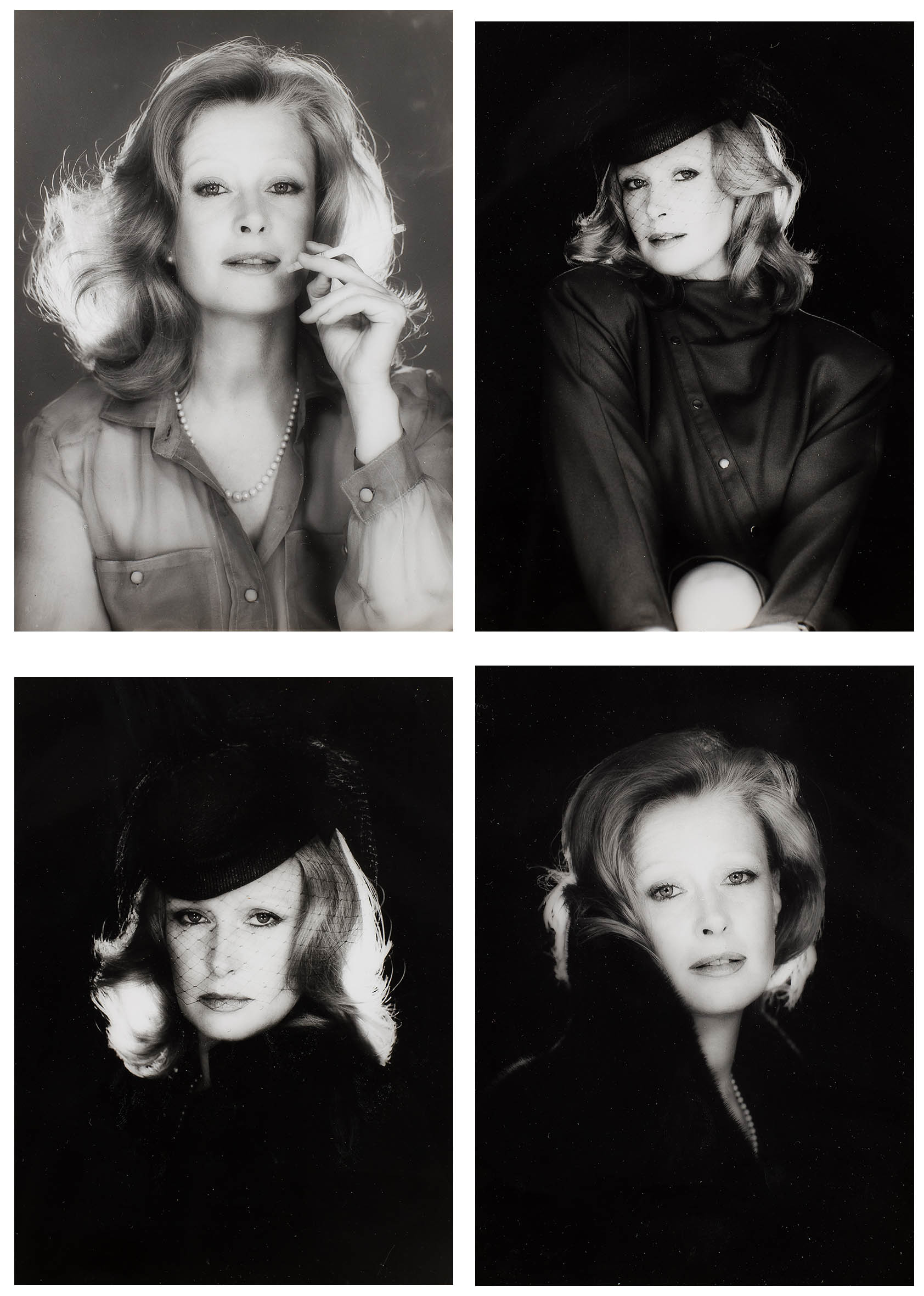 Cztery portrety Beaty Tyszkiewicz