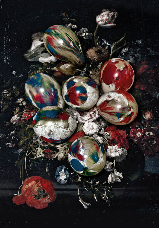 Dutch Still Life with Baloons zcyklu: Re-collections, 2016