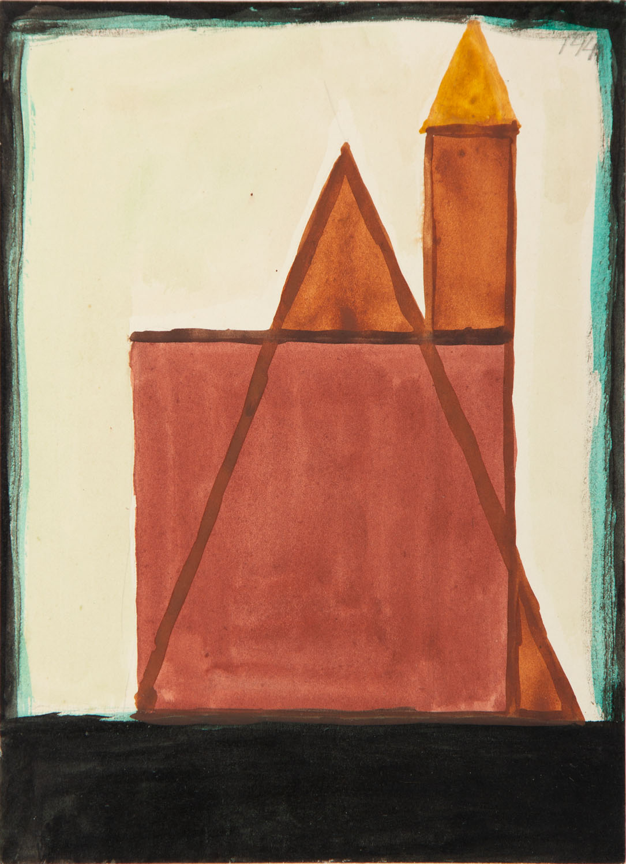 [Kompozycja abstrakcyjna nr 144], circa niedatowany,1948 r.