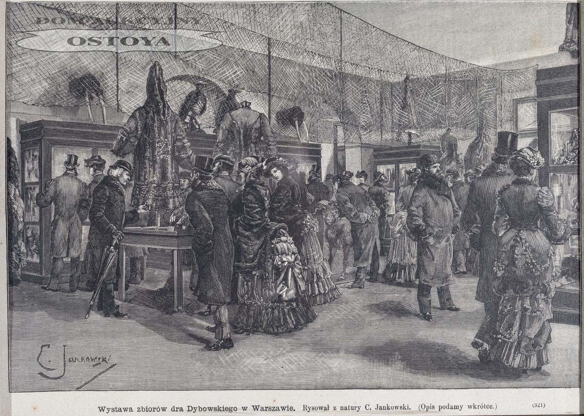 WYSTAWA ZBIORÓW BENEDYKTA DYBOWSKIEGO W WARSZAWIE, 1884