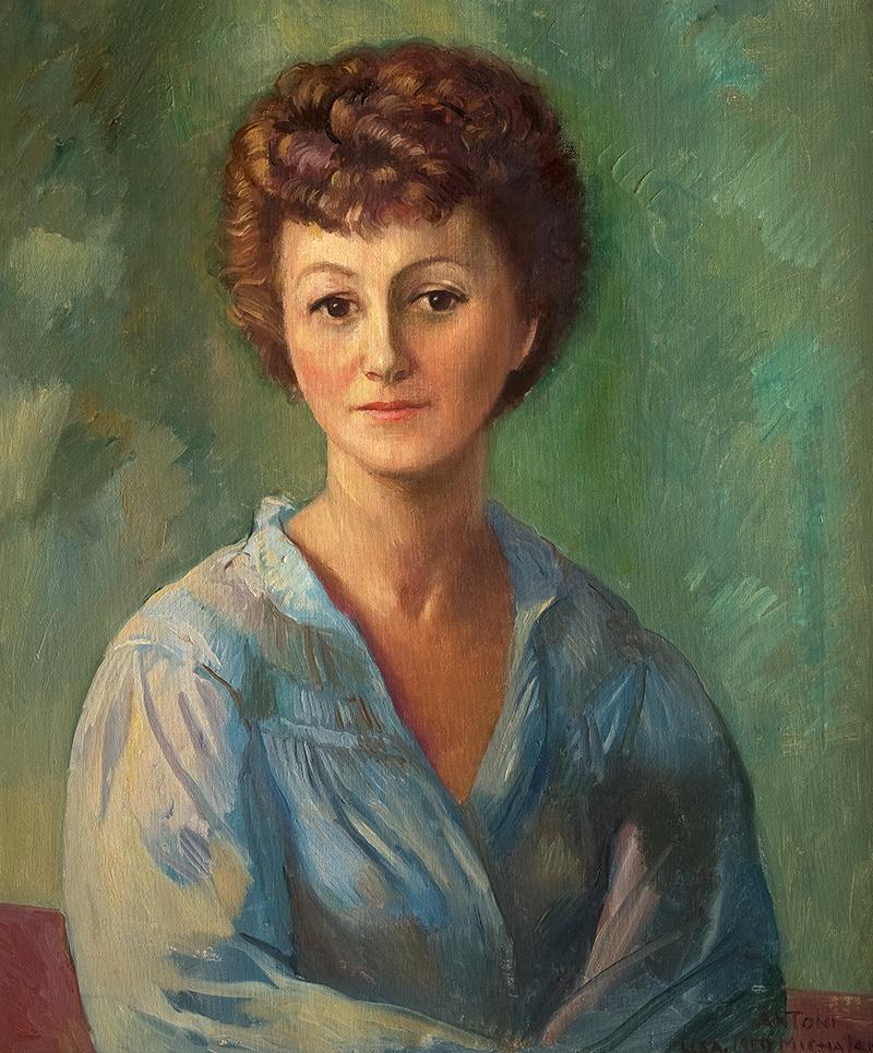 Portret kobiety, 1959 r.