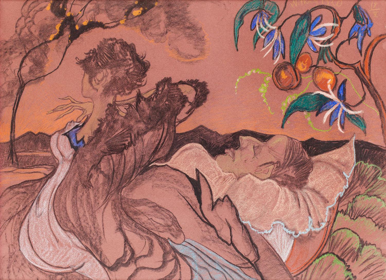 """""""Śmierć kochanka"""", 1920 r."""