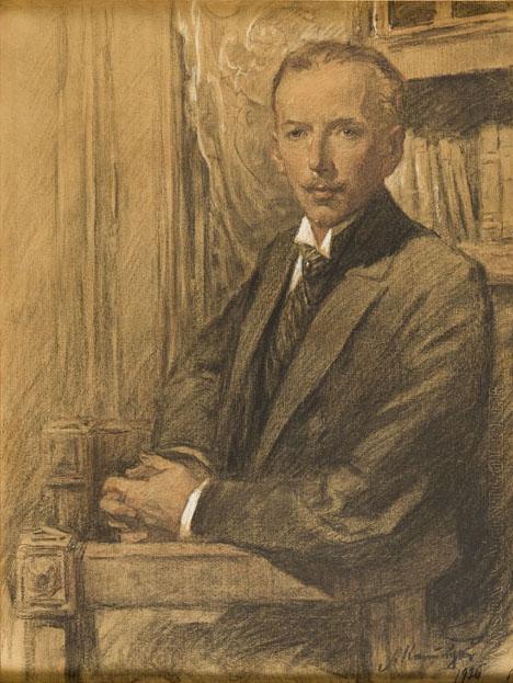 Portret mężczyzny, 1926 r.