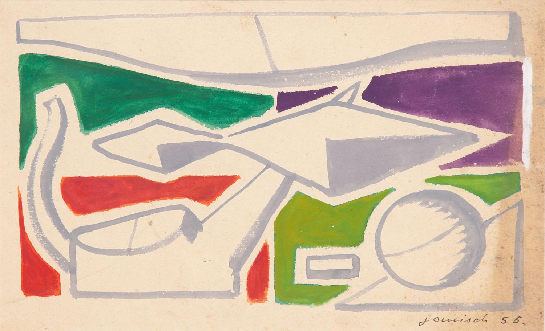 Kompozycja z kulą, 1955 r.