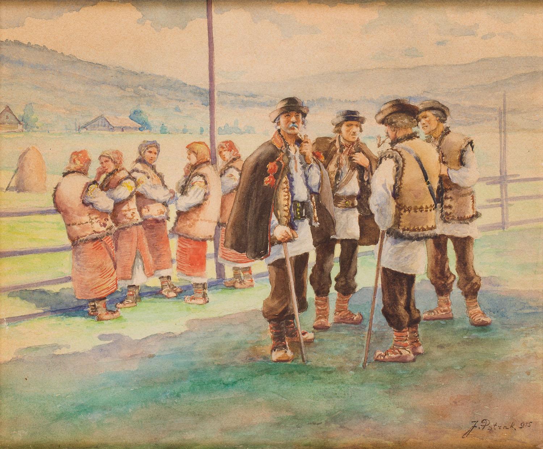 Huculi, 1915 r.
