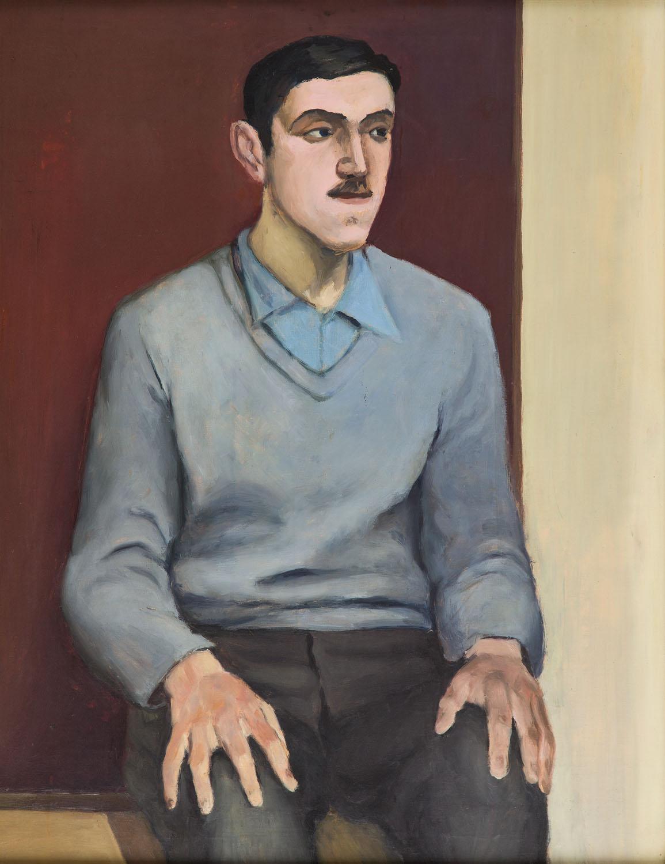 """""""Portret mężczyzny"""", 1950 r."""