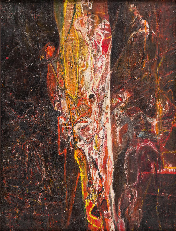 """Szkielet ognia"", 1959 r."