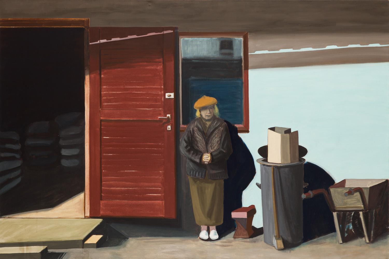 """""""Przed szopą, kwiecień"""", 2005 r."""