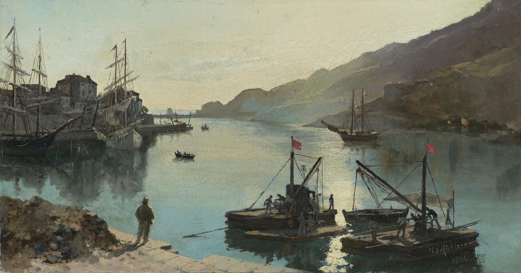 PORT W SŁOŃCU, 1894