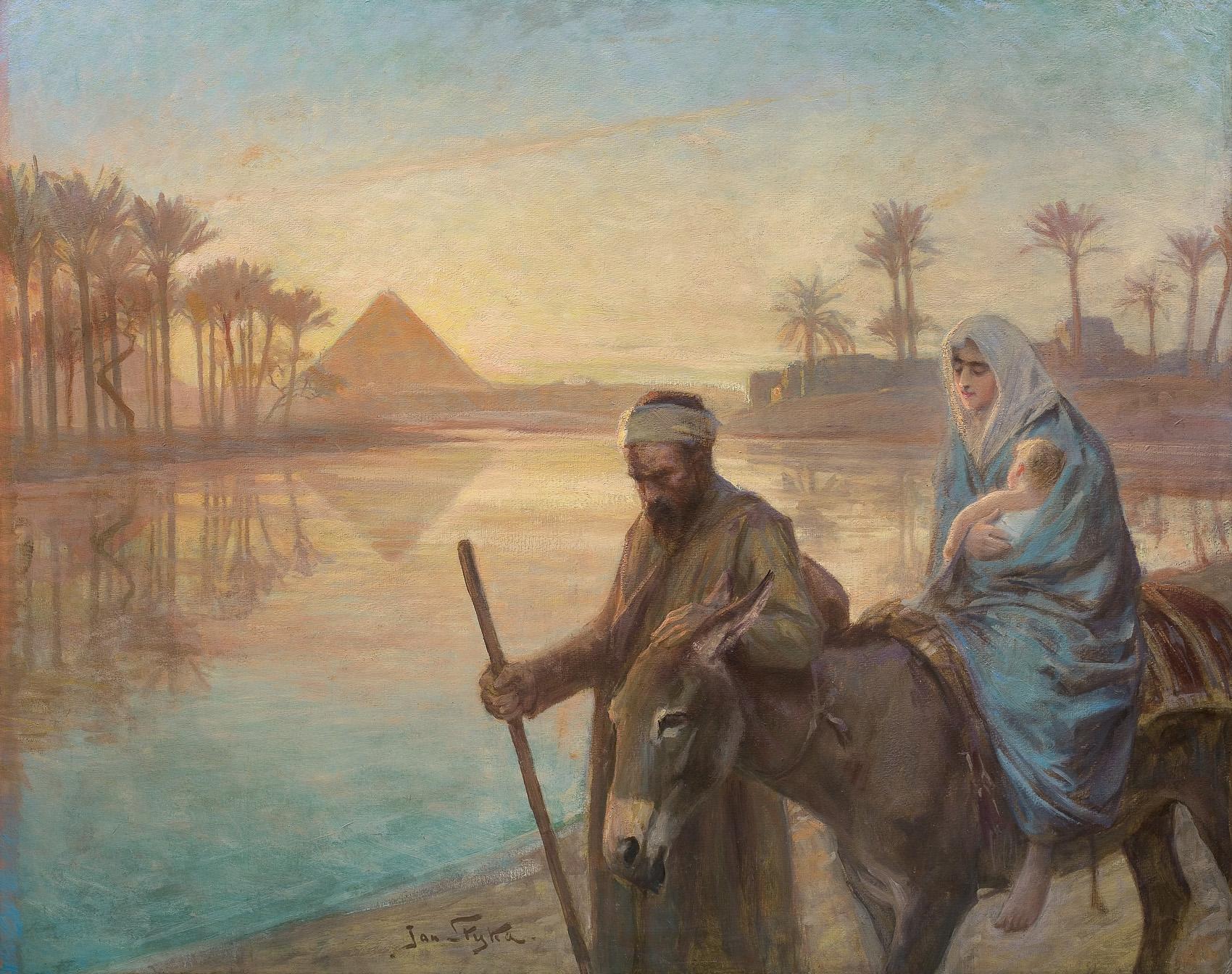 ŚWIĘTA RODZINA W EGIPCIE