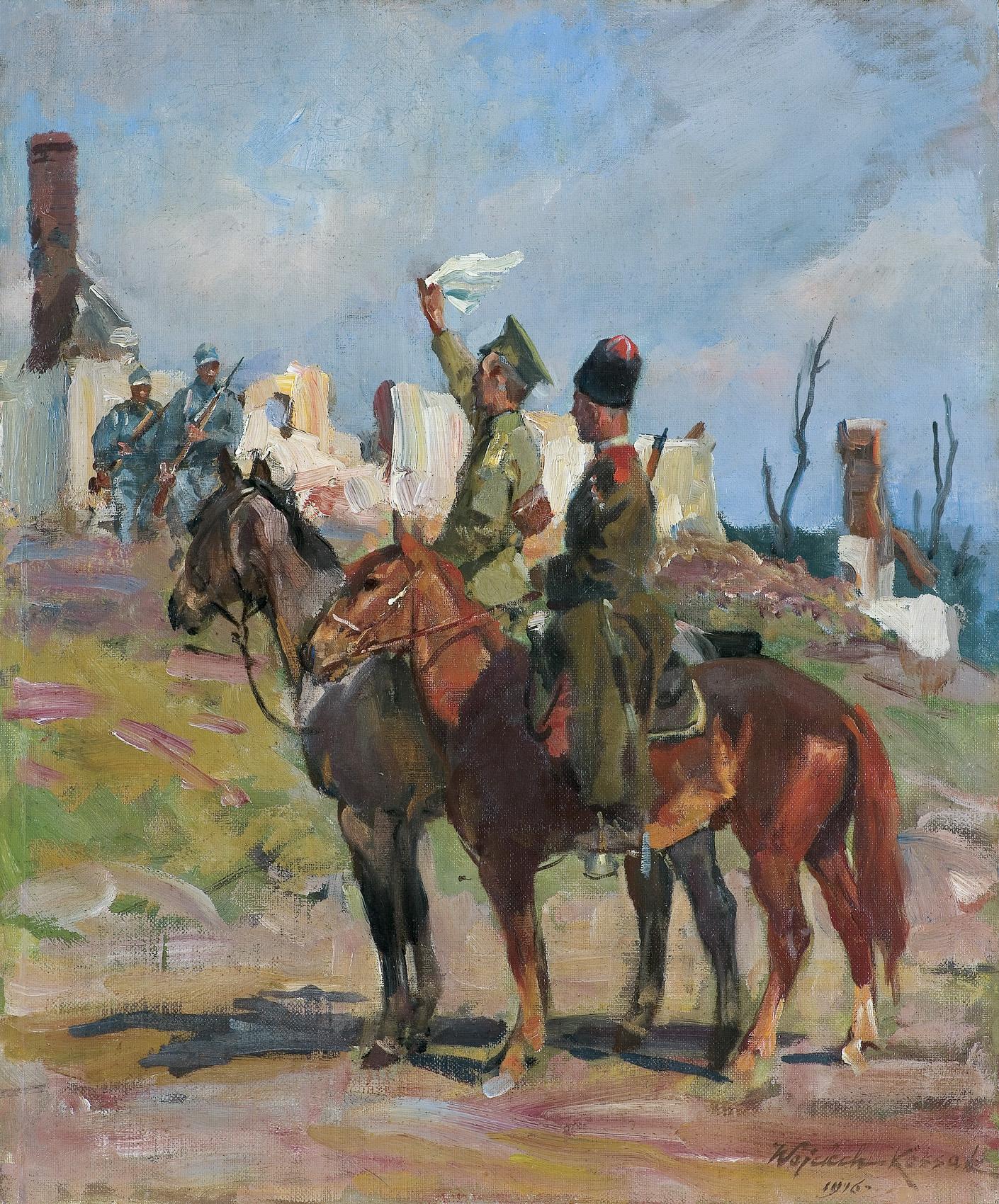 KAPITULACJA, 1916