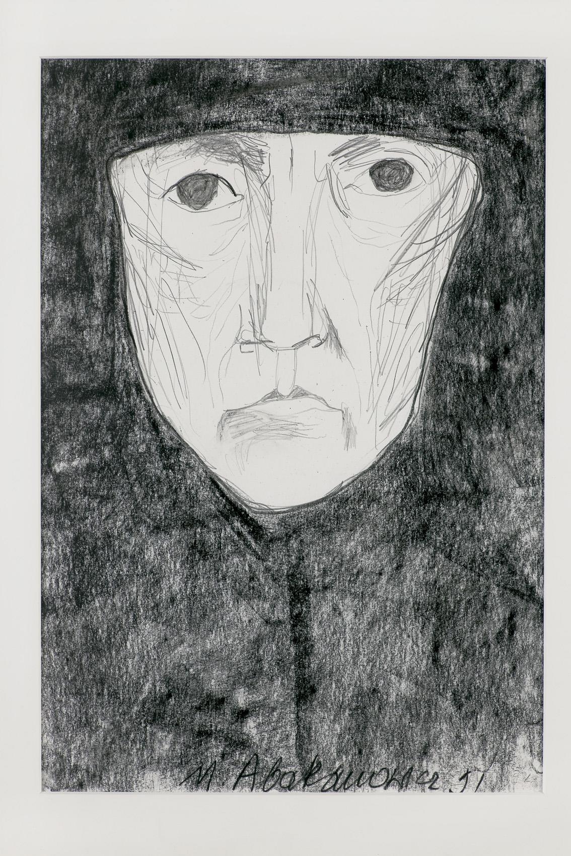 MYŚLENIE (THINKING), z cyklu Siostry, PRZODKOWIE, RODZINA (SISTERS-ANCESTORS-FAMILY), 1991