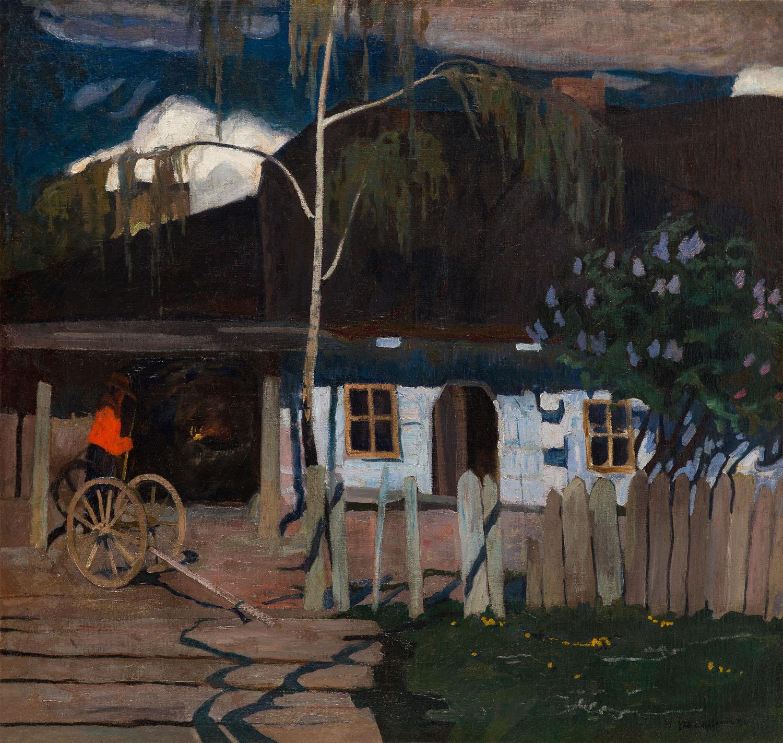 Zagroda w Bronowicach, około 1905-07