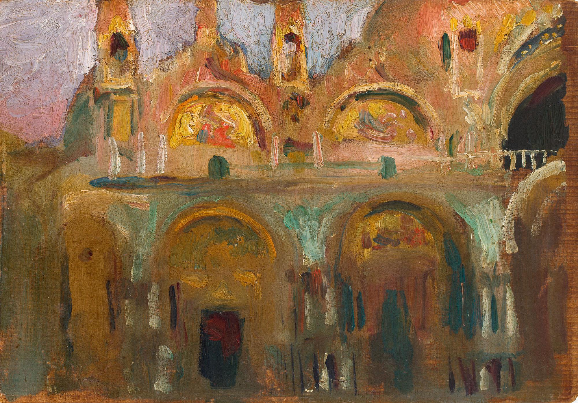 Bazylika św. Marka w Wenecji, 1899 (?)