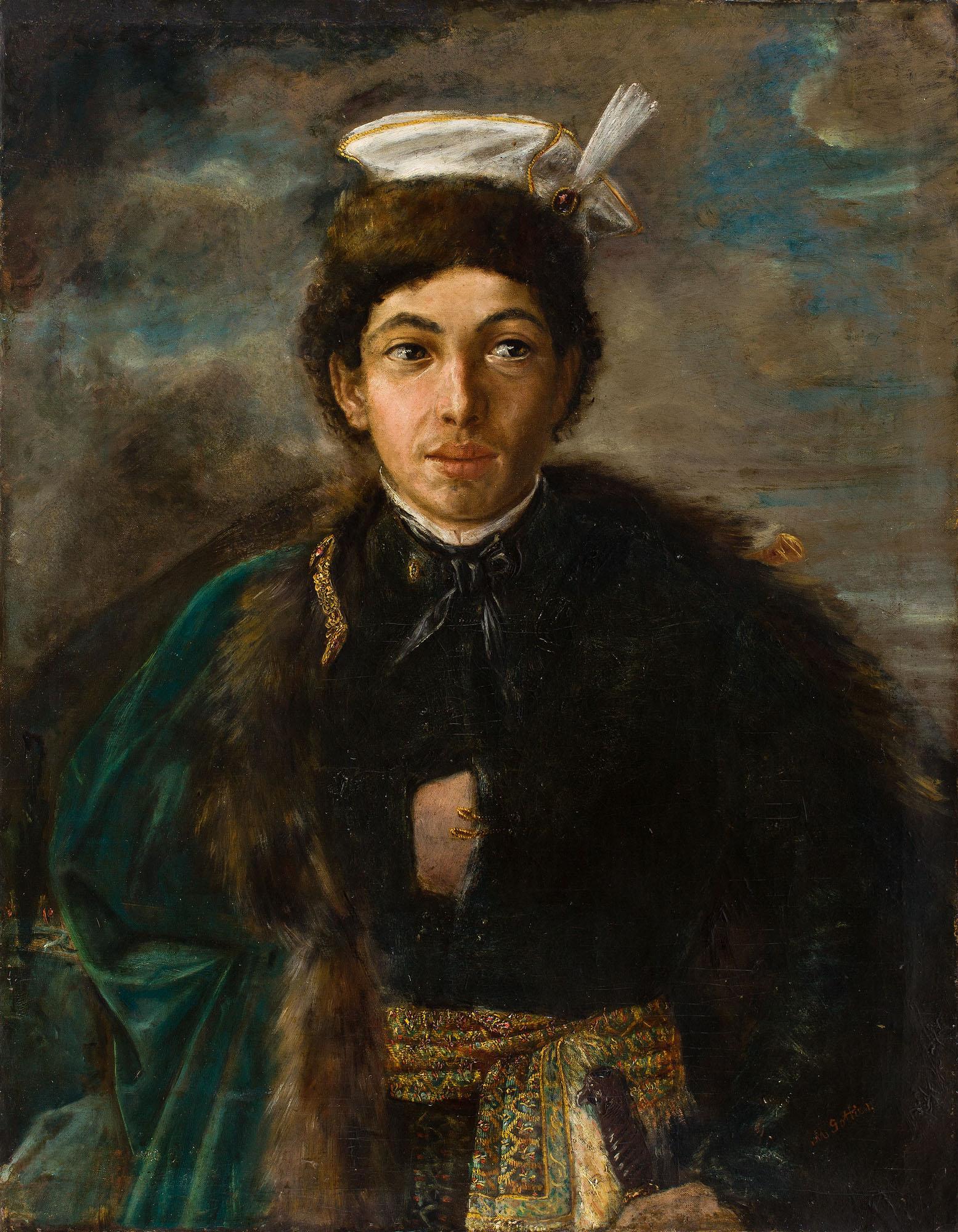 Autoportret w stroju polskiego szlachcica, 1874