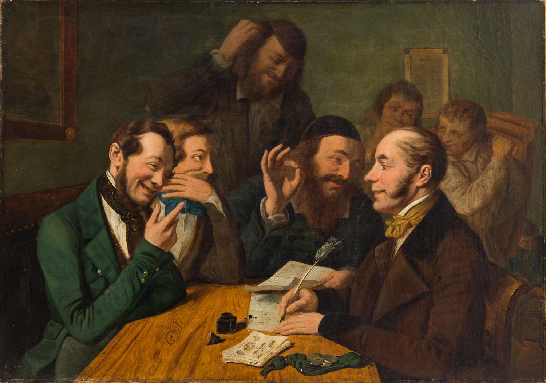 """Spekulanci"", 1844"