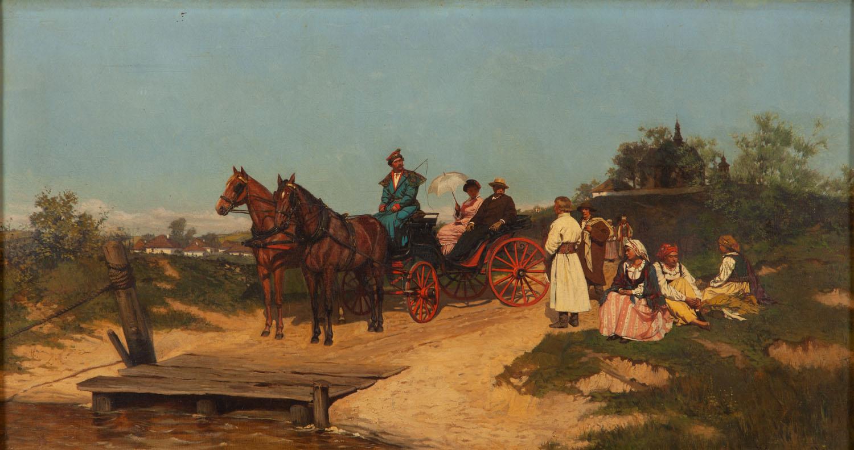U przewozu, 1881