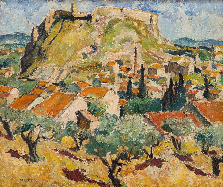 """Avignon"" (Widok na Fort św. Andrzeja w Villeneuve-lès-Avignon), 1940"