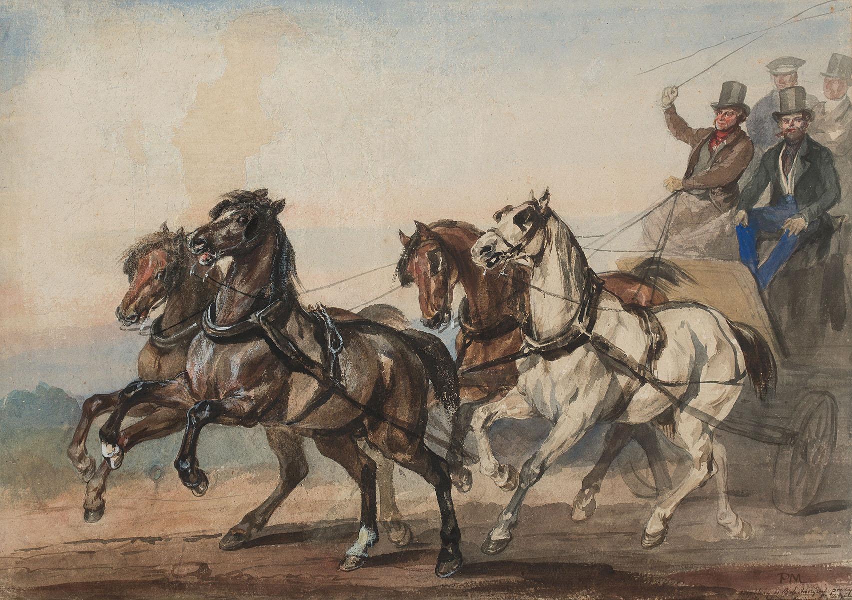 Dyliżans, po 1840