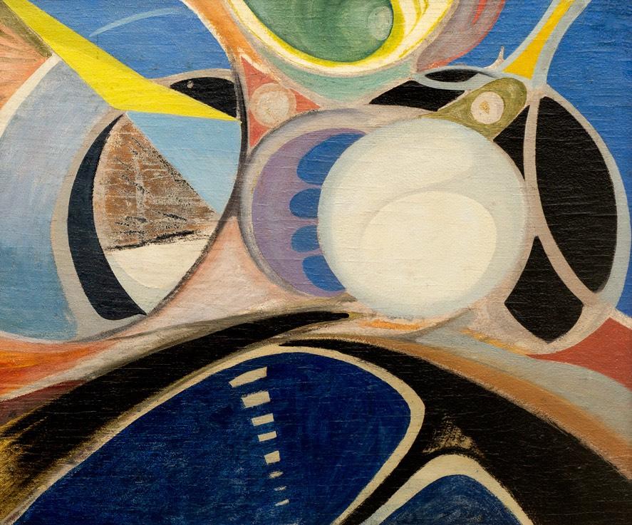 Kompozycja abstrakcyjna II, 1958