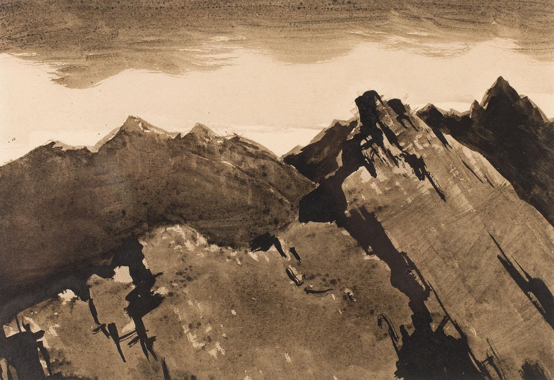[Góry nr 295], [Ze szkicownika Tatry II], około1953-1955