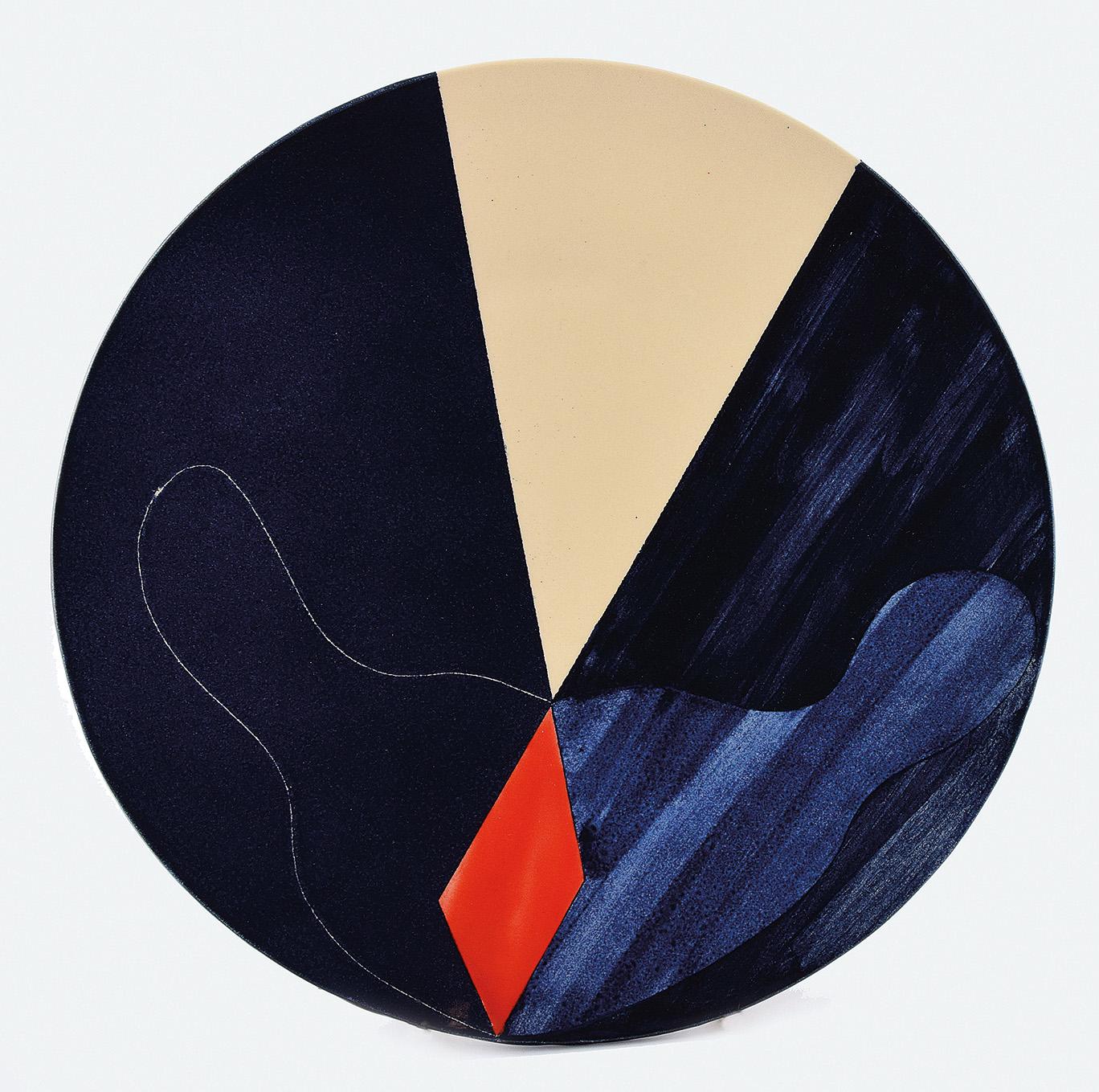 Talerz dekoracyjny - A215, 2018
