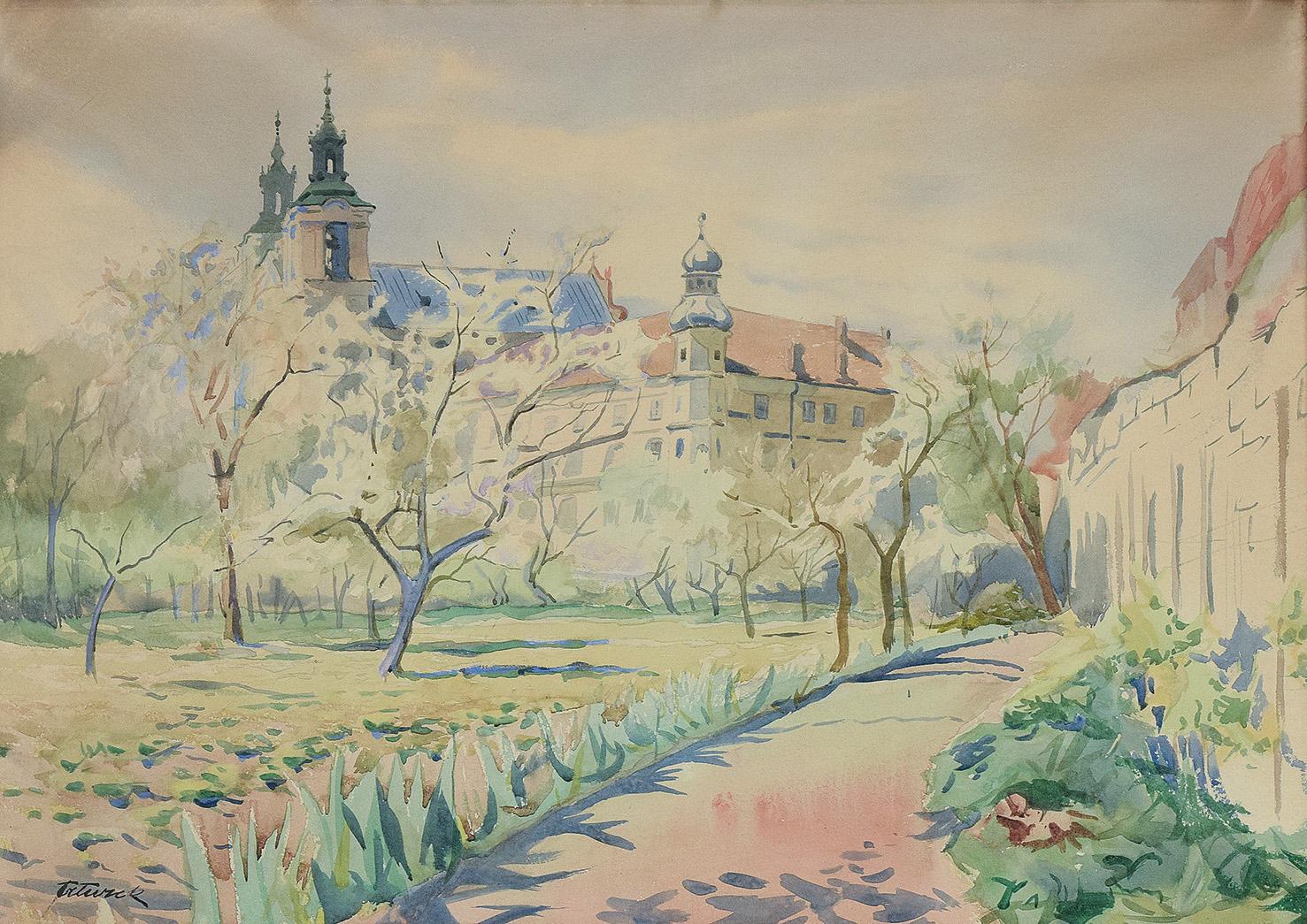 Kościół na Skałce w Krakowie, ok. 1930
