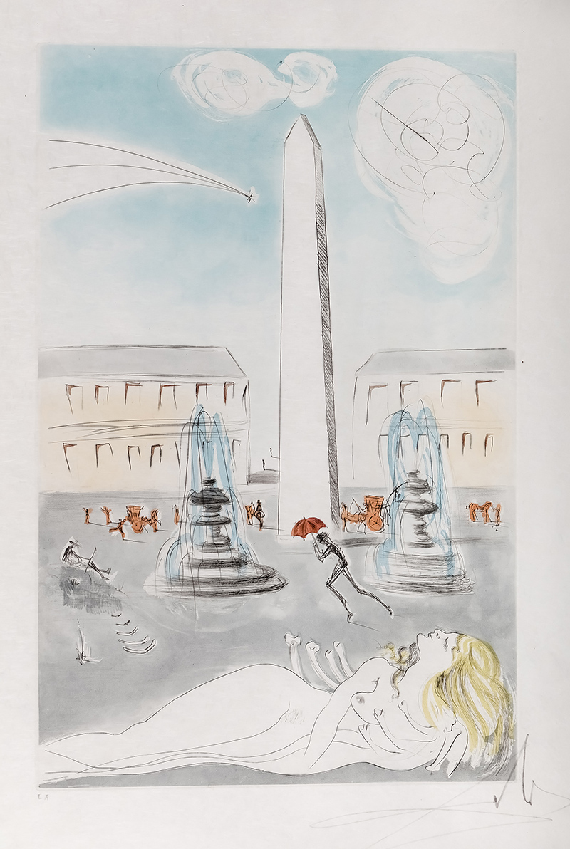 Place de la Concorde, 1974