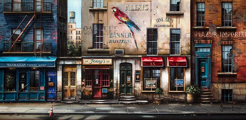 Banner Painters - New York, 2018