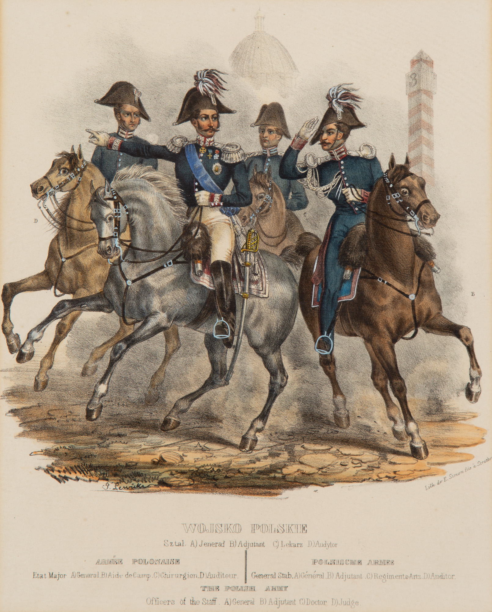 Wojsko Polskie. Sztab, 1841