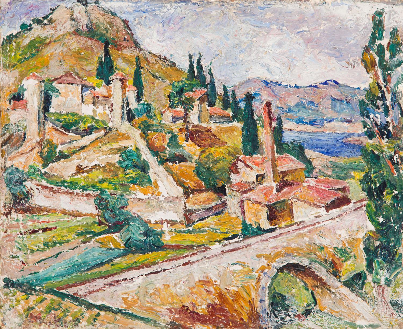 Krajobraz z Villeneuve-lès-Avignon