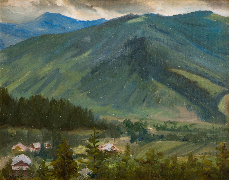 Pejzaż tatrzański, 1942