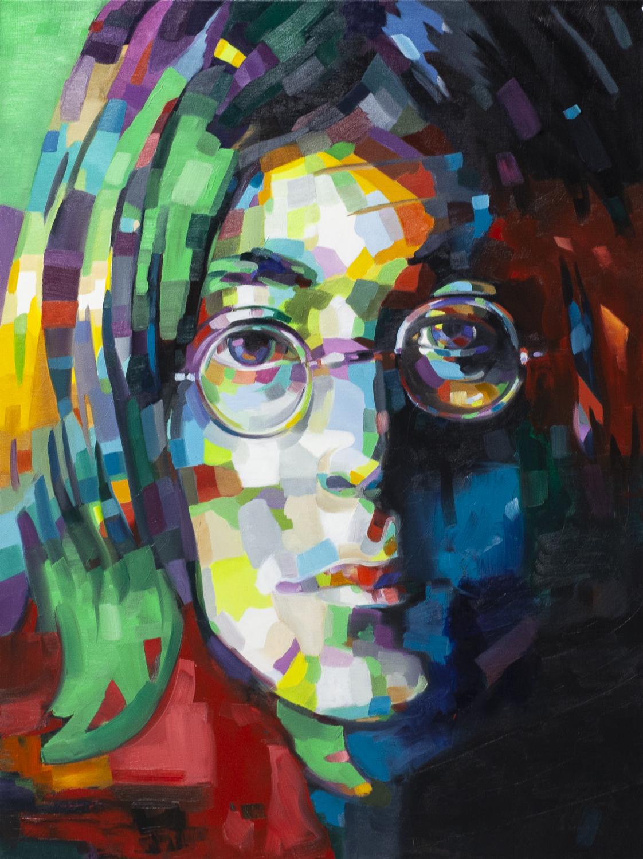 Lennon Abstract, 2019