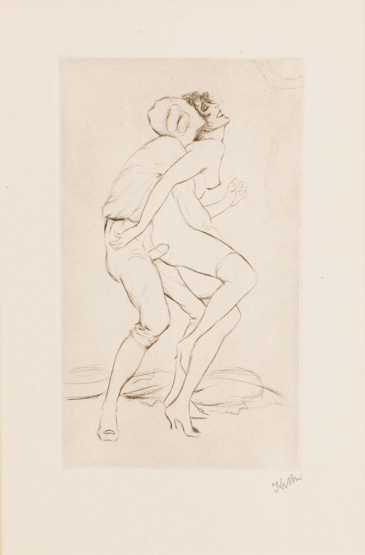 Scena erotyczna, około1920