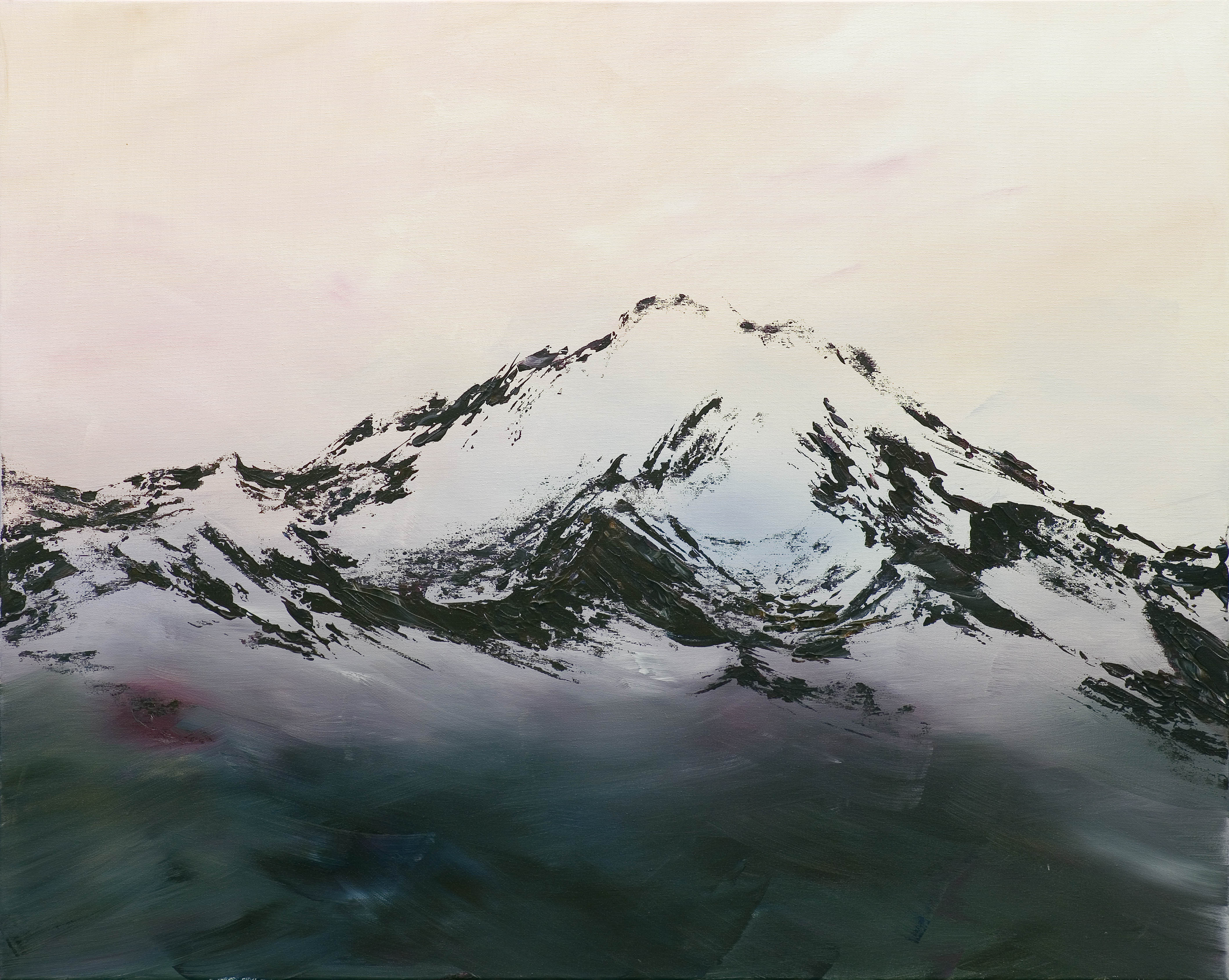 Foggy mountains, 2019