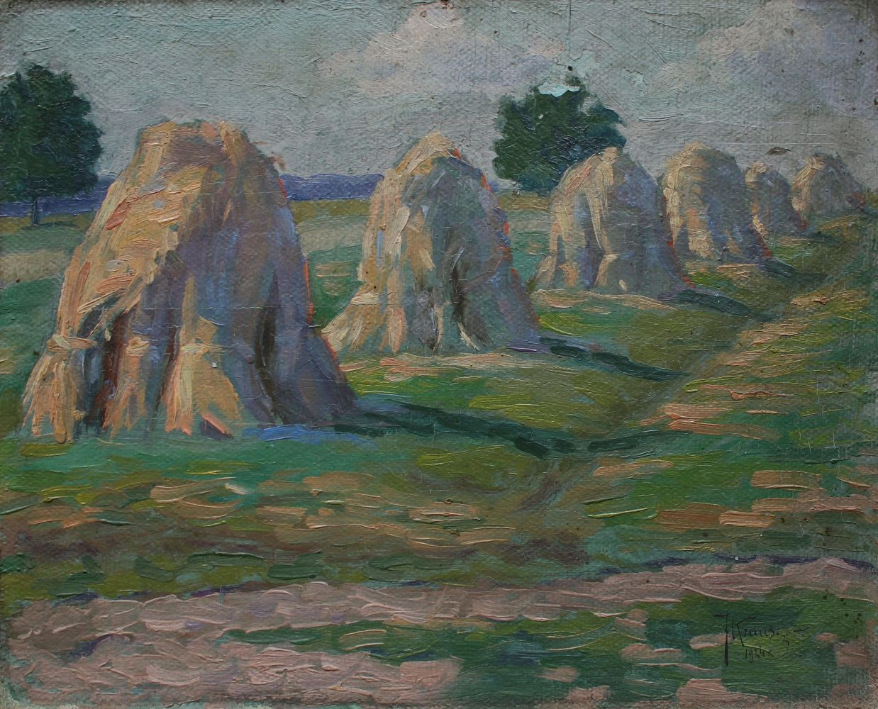 Pejzaż ze snopami (1924)