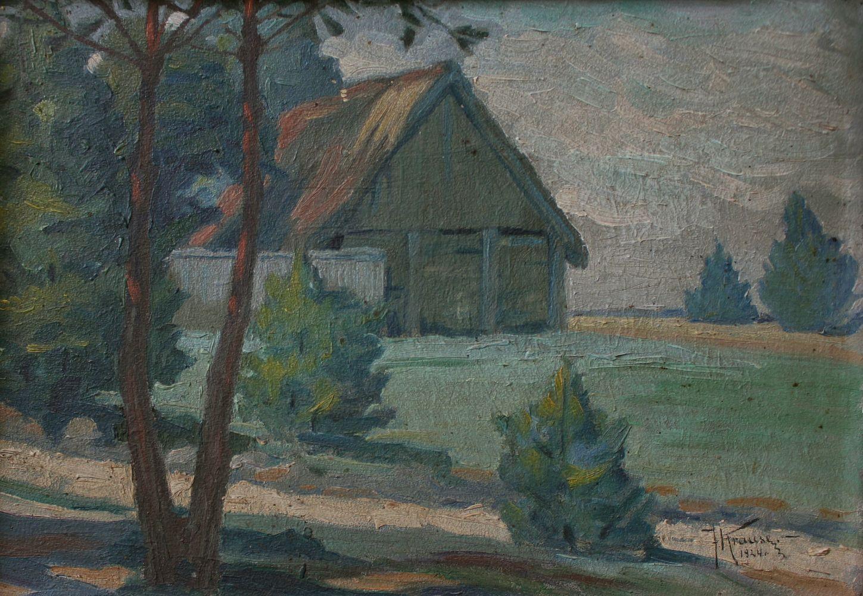 Studium pejzażowe (1924)