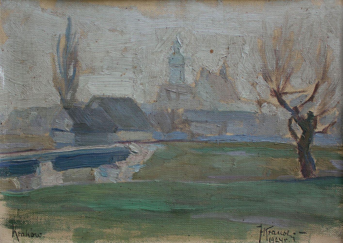Pejzaż podkrakowski (1924)